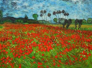 Field-of-Poppies-by-Vincent-Van-Gogh