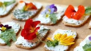 flores comestibles sutidas