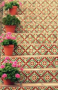 flores escaleras 4