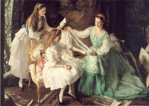 George Harcourt - Madre e hijas