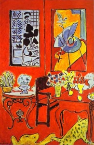 Henri-Matisse-1869-1954.-Large-Red-Interior.-1948