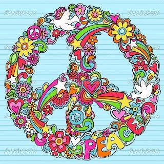 Movimiento hippie creciendoentreflores - Dessin peace and love ...