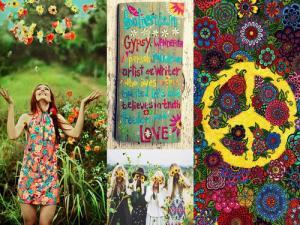 hippie presentación