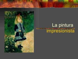 impresinismo presentación