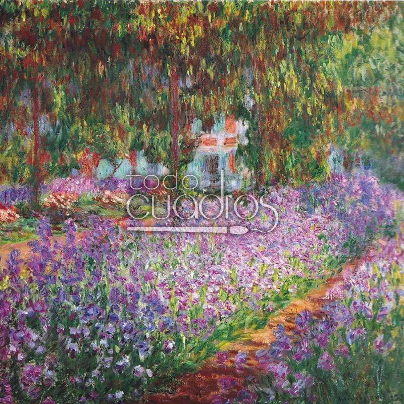 Las flores en la pintura viii un pintor y un Cuadros para el jardin