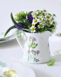jarras flores