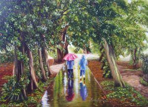 """""""Caminando Bajo la Lluvia"""""""