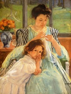 madre-cosiendo-cassatt