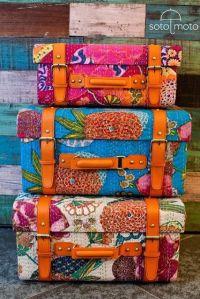 maletas flores