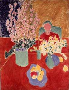 "Henri Matisse French, 1869-1954 Branche de Purnier, 1948 Oil on Canvas 45 3/4 x 35"" (116 x 89 cm) Fractional and promised gift of Marie-Josée and Henry R. Kravis © 2005 Succession H. Matisse, Paris / Artists Rights Society (ARS), New York"