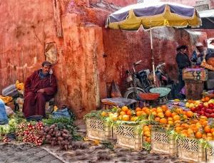 mercado fruta marruecos