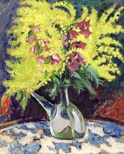 mimosa pintura