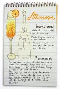 mimosa receta