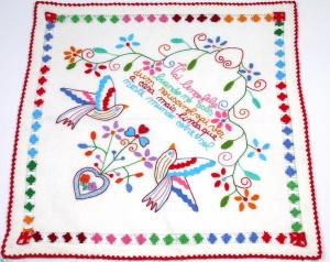 pañuelos bordados viana