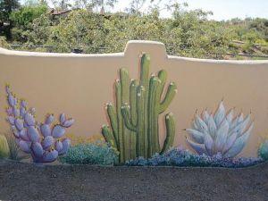 pared flor jardín