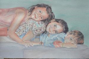 retratos-en-acuarela-hermanos-Bados-retratos-por-encargo-marta-de-la-rocha-e1448969914385