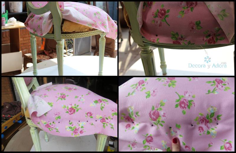 Tapizado de sillas creciendoentreflores - Como tapizar sillas de madera ...