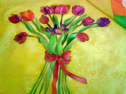 tulipanes tela