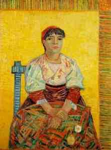 Vincent+Van+Gogh+-+Italian+Woman+Agostina+Segatori+