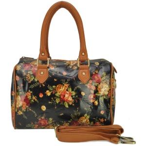 Women-font-b-Handbags-b-font-font-b-Oilcloth-b-font-Bags-Wild-Flowers-Print-Design