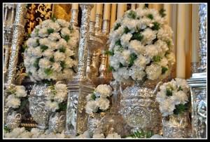 1. Domingo de Ramos Exornos florales Hermandad de La Amargura Semana Santa 2013 (12)