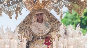 03-04-2015. SEVILLA. MADRUGADA. ESPERANZA DE TRIANA. FOTOS: JESUS SPINOLA. ARCHSEV