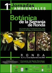 Cartel de Jornadas Serranía Ronda