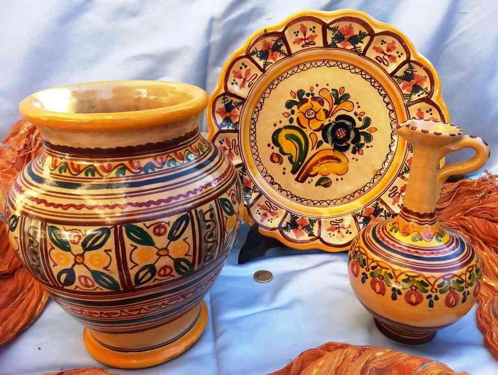 Bordados de lagartera creciendoentreflores for Ceramica talavera madrid