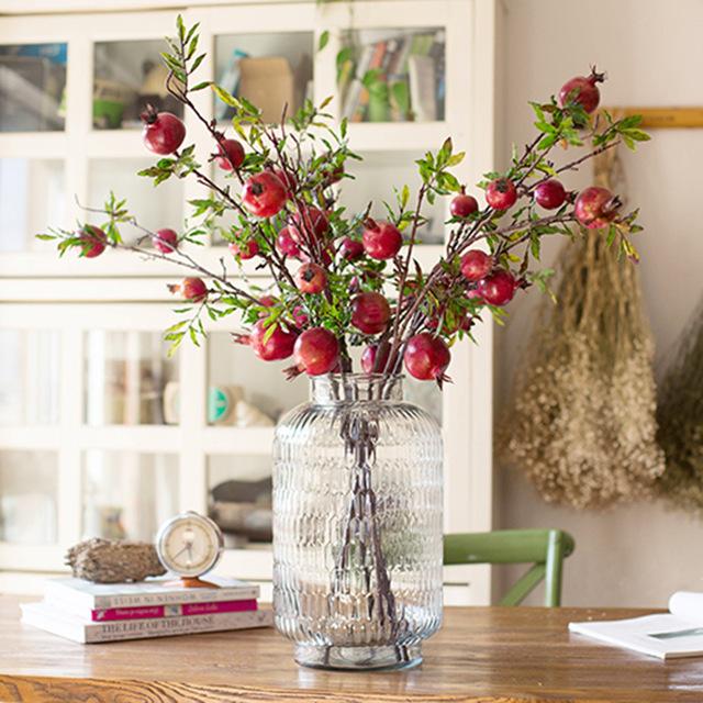 Flores en agua y sint ticas jarrones y floreros for Decoracion de jardines con jarrones de barro
