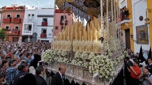 SEVILLA. 2.4.15. Jueves Santo. Hermandad de Montesion. Calle Feria. FOTO: VANESSA GOMEZ. archsev