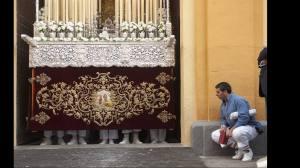 Sevilla. Semana Santa. Domingo de Ramos. Hermandad de la Amargura. 13/04/2014. Foto: Juan Jose Ubeda. Archsev.