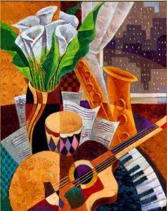 música y flores 3