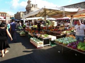 mercado de fruta Sicilia