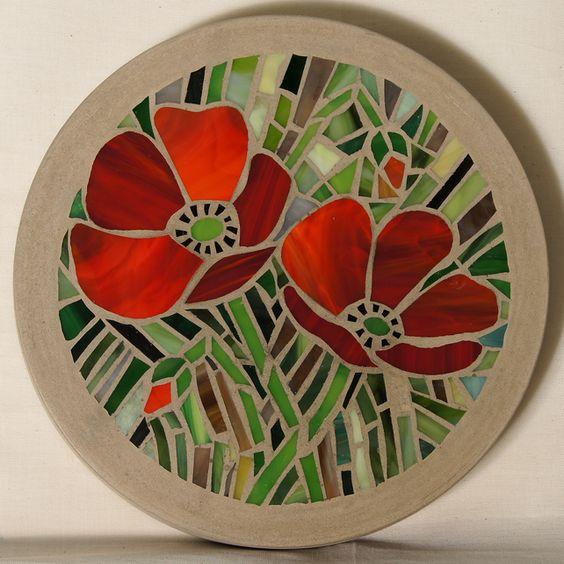 Flores en mosaico creciendoentreflores for Disenos para mosaicos