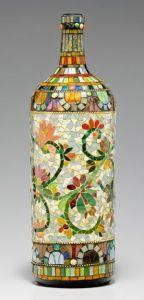 mosaico botella