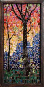 mosaico árbol