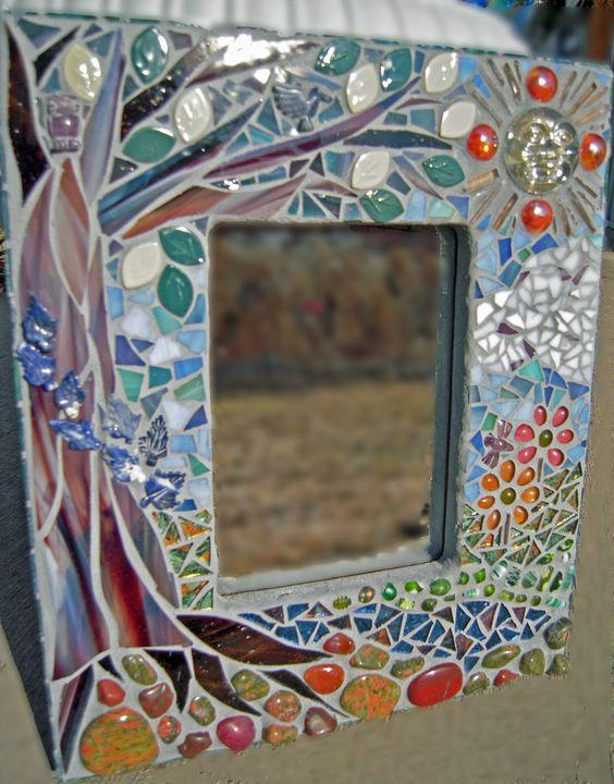 mosaico espejo mosaico