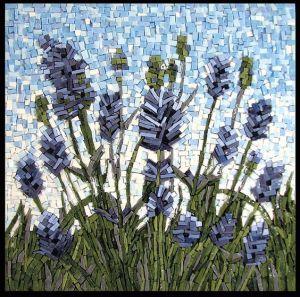 mosaico lavandas