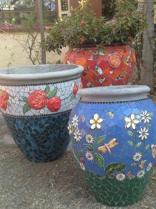 mosaico macetas
