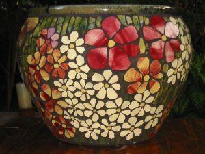 mosaico macetero