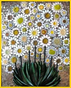 mosaico margarita