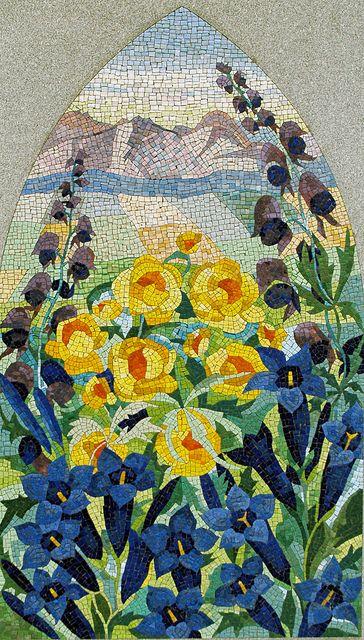 Flores en mosaico – creciendoentreflores