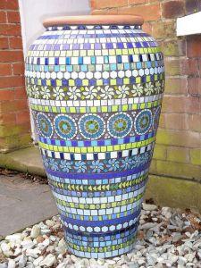 mosaico vasija