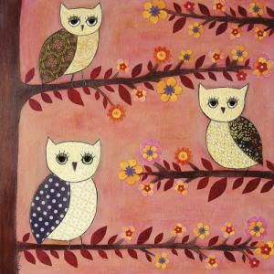 Owl-by-American-artist-Karla-Gerard