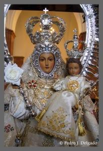 Virgen de la Fuensanta de Montoro. Fotografía Pedro J. Delgado.