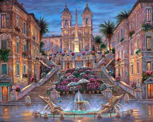 112447__robert-finale-rome-the-spanish-steps-painting-italy-rome-stairs-fountain-flowers_p