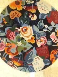 alfombra círculo