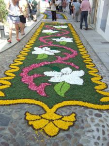 alfombra corpus castropol asturias