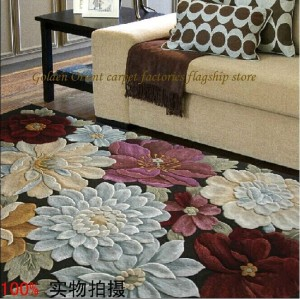 alfombra flores enormes