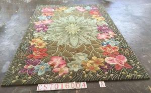 alfombra flores grandes